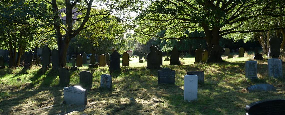churchyard slider image