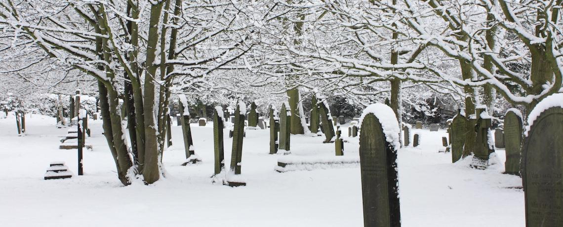 Snowy Churchyard slider