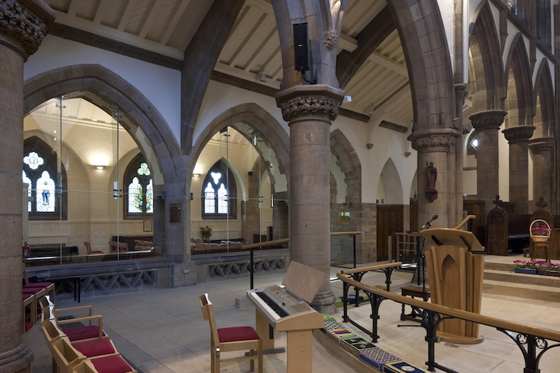 church interior towards Lady Chapel