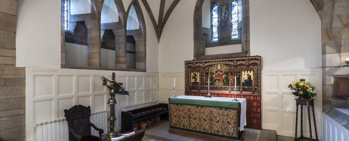 The Lady Chapel / Chapel of St. Oswald